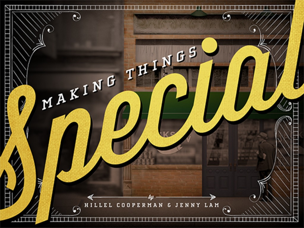 Making Things Special's video poster