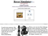 moon Rover Simulator part needed - IP CAMERA