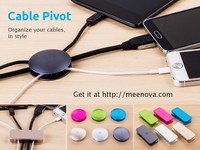 Cable Pivot: Organize Your Cables, in Style