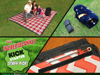 The Incrediblanket - The world's best outdoor blanket!
