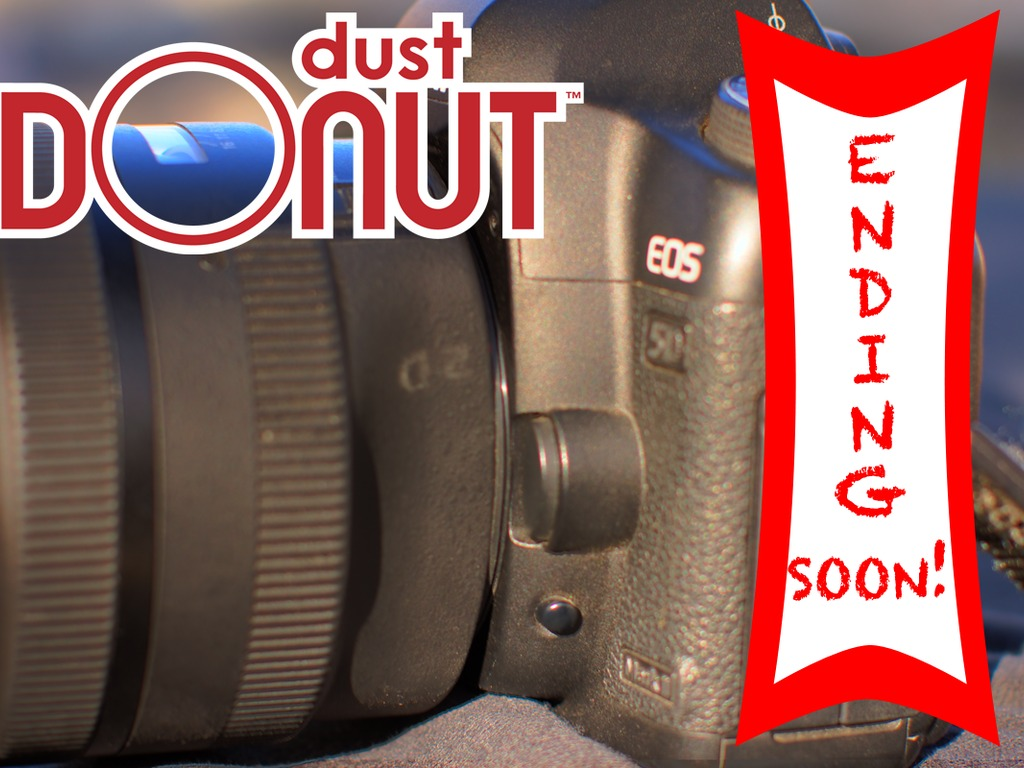 Dust Donut™ Add a weather seal to the mount of any DSLR Lens's video poster