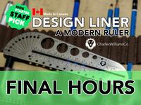 DesignLiner a Modern Multi-Tool Stainless Steel Ruler