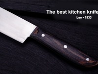 Lee Knife: The best kitchen knife on earth