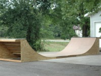 Mini Ramp Half Pipe for Local Skaters* Project