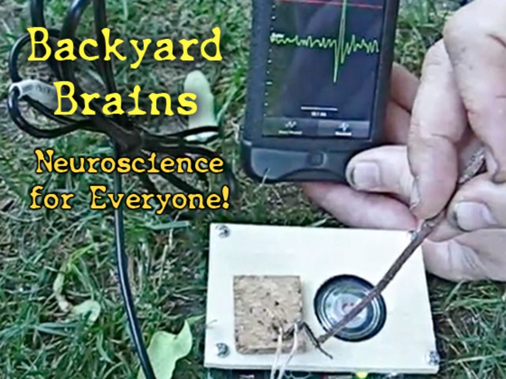 Backyard Brains: Neuroscience for Everyone!'s video poster