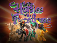 Four Horsies of the 'Pocalypse collectible art toy figures