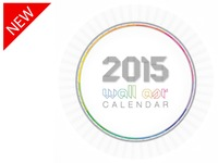 2015 WALL ASR CIRCULAR CALENDAR - a unique idea refined