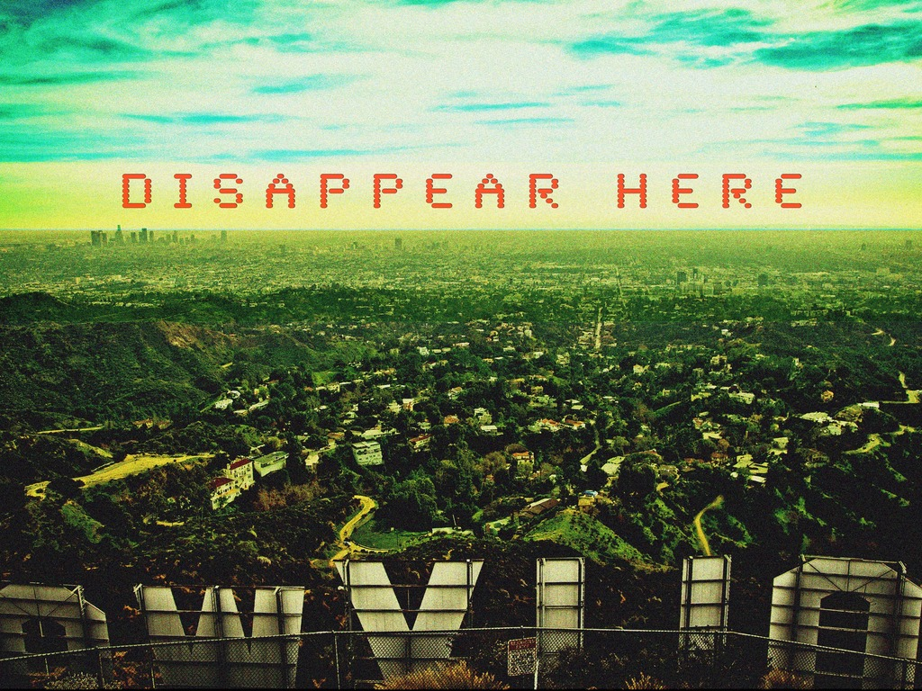 DISAPPEAR HERE's video poster