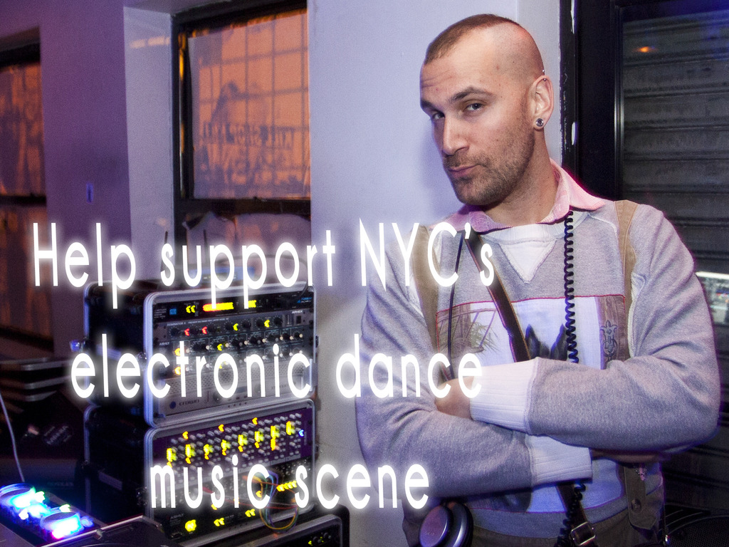 New music video to help support NYC's dance music scene's video poster