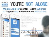 You're Not Alone: Mental Health Mobile Communication App