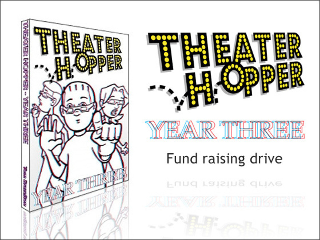 Theater Hopper: Year Three's video poster