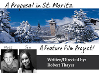 A Proposal in St Moritz