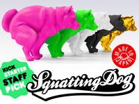 Squatting Dog