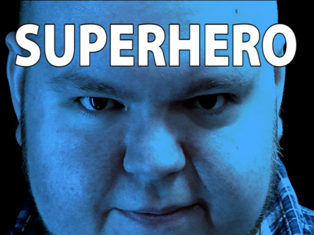 A Real-life Superhero Movie (starring Jeeves)'s video poster