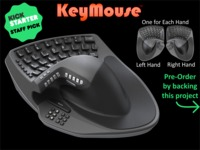 KeyMouse™ - The Keyboard and Mouse Re-invented!