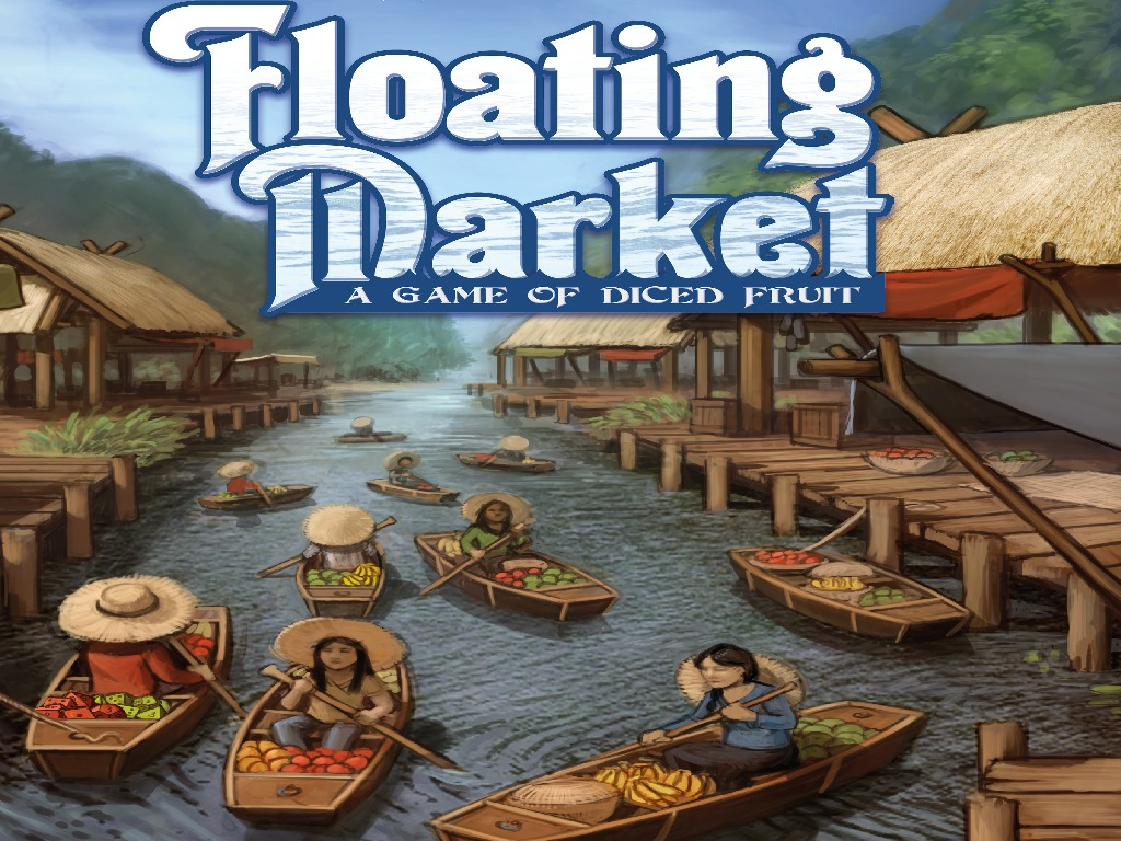 Floating Market - A Game of Diced Fruit!'s video poster