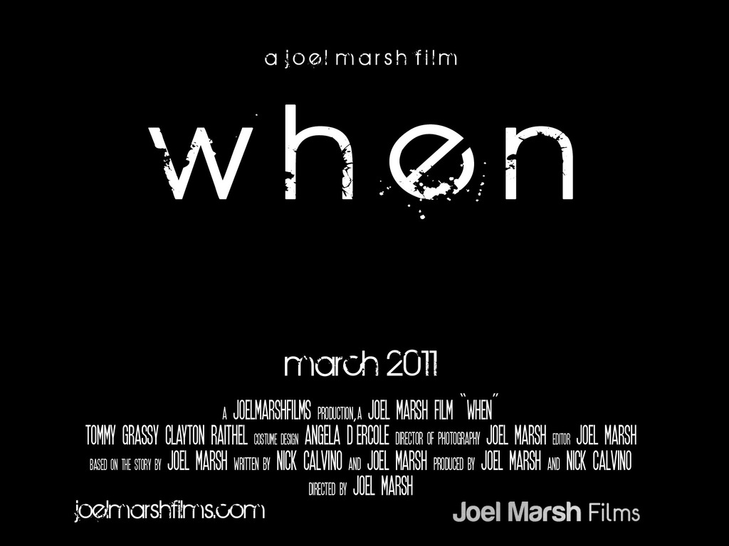 """""""When."""" A Post-Apocalyptic Short Film.'s video poster"""