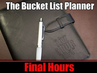 """The """"Live Your Bucket List"""" Life Planner"""