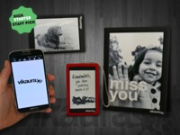 Vikaura Screen:  Use your smartphone to customize your world
