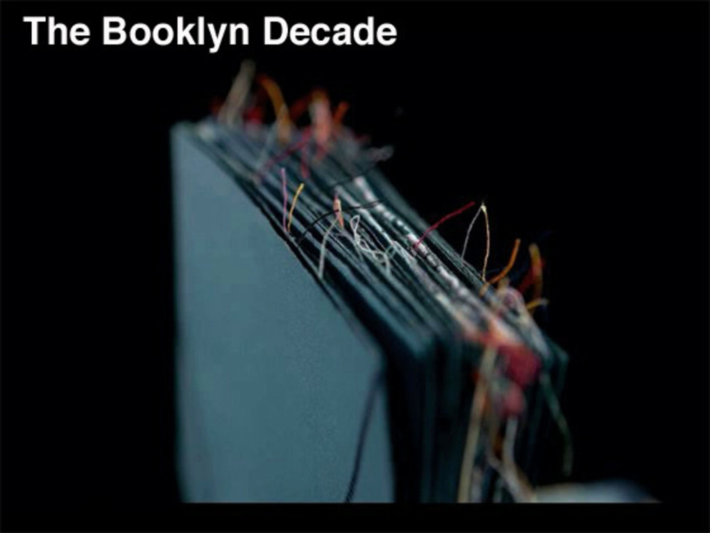 Booklyn Artist Alliance: The Next Decade's video poster