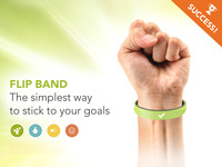 FLIP BAND: Simple way to STICK TO ANY GOAL — 100% Tech-Free