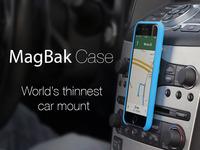 MagBak Case: World's thinnest car mount.