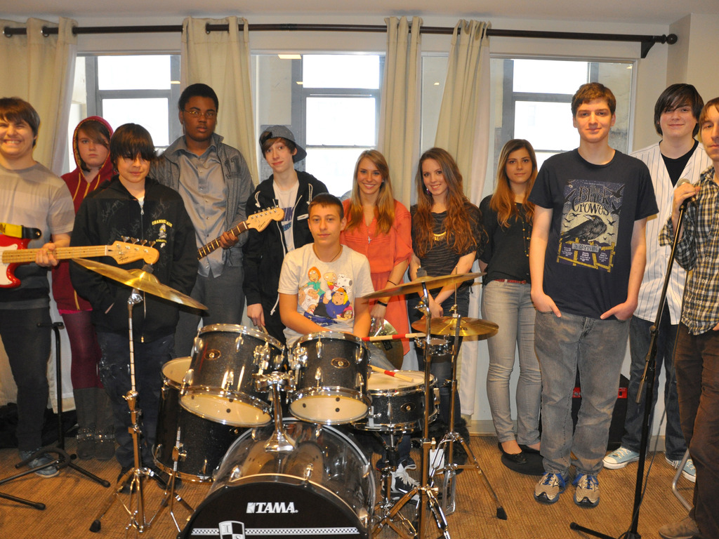Smith School Rock Band goes to the Studio!'s video poster