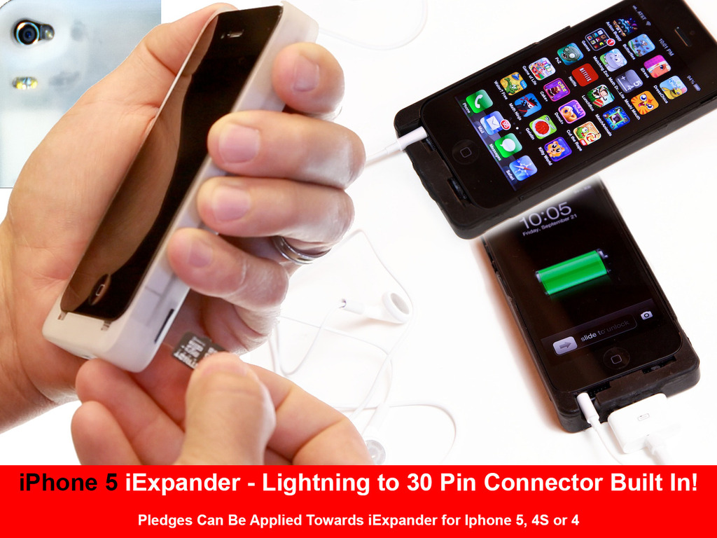 iExpander - an expansion device for your iPhone's video poster