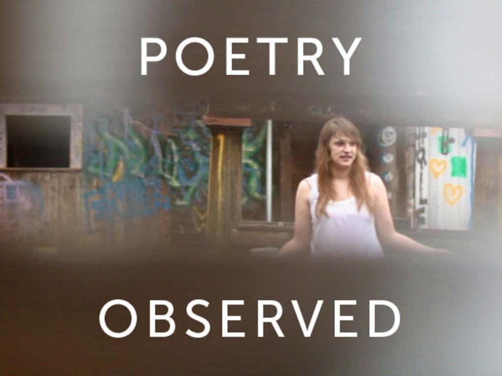 Poetry Observed in New York City's video poster