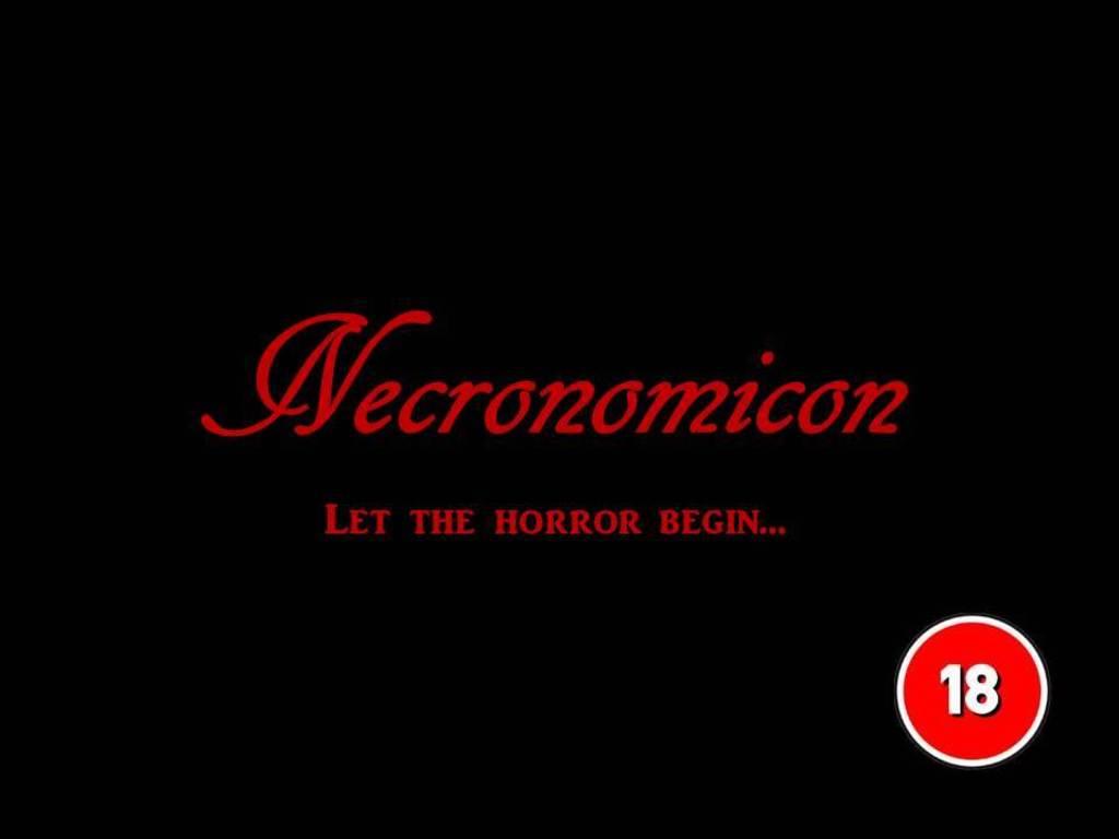 Necronomicon Horror RPG's video poster