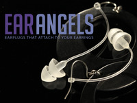 EarAngels - Earplugs that attach to your earrings!
