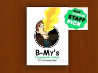 B-My's Homemade Salsa - 100% All Natural (aka Organic) Salsa