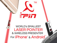 iPin™: Laser Pointer + Wireless Presenter for iOS & Android