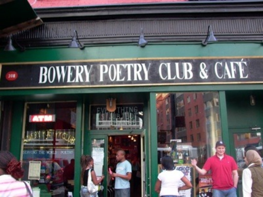 Bowery Poetry Club Revival (Canceled)'s video poster