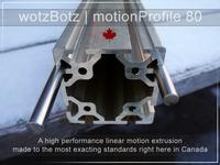 wotzBotz | motionProfile 80mm Frame Profile for CNC Machines