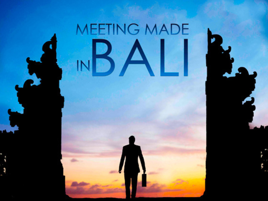 Meeting Made in Bali - A Film Festival Short's video poster