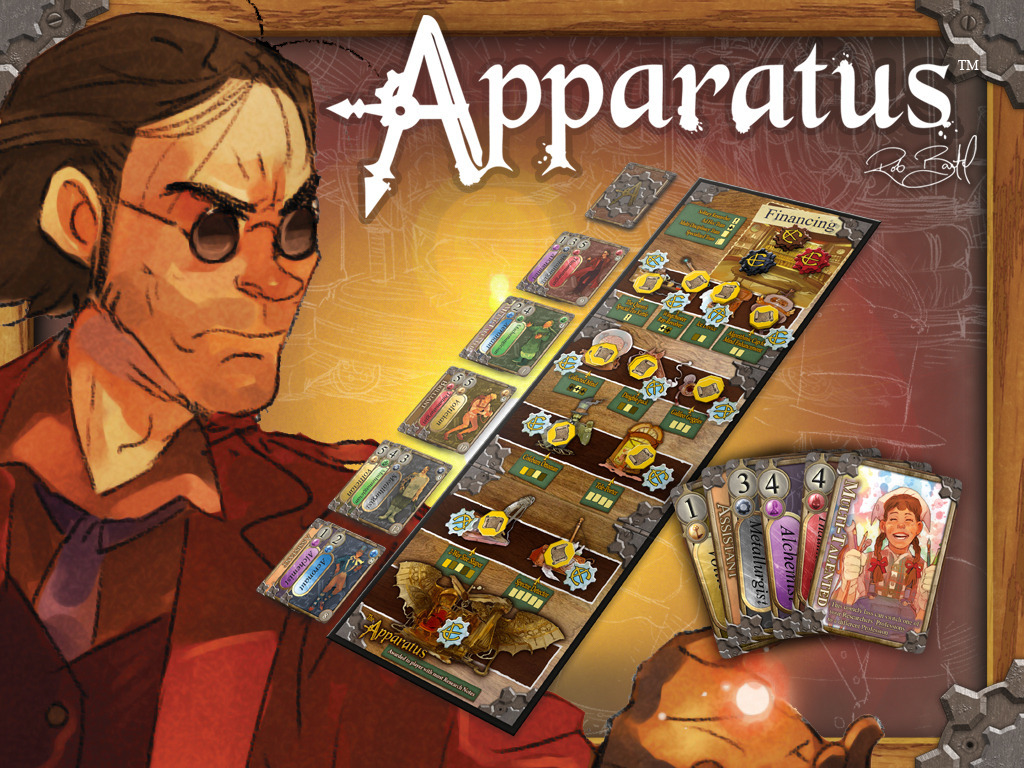 Apparatus: A Steampunk Game by Rob Bartel's video poster