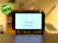 "Manga Screen – Multi Touch 4.3"" LCD"