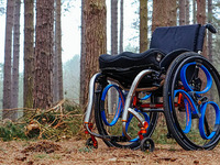 Loopwheels: shock-absorbing suspension for wheelchairs