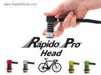 The Rápido Pro Pump Head For Bicycles