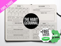 The Habit Journal: track your habits and achieve your goals
