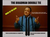 The Bradman Double Tie