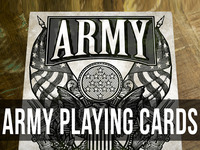 US ARMY Playing Cards by Jackson Robinson