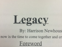 Legacy- Together we have the ability to achieve much.