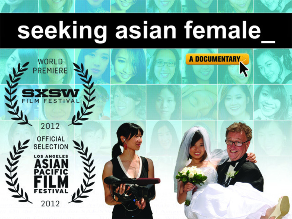 seeking asian female's video poster