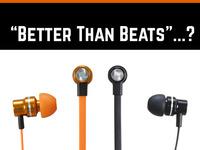 """Better than Beats""? - PUMP & OMG Audio In-Ear Headphones"