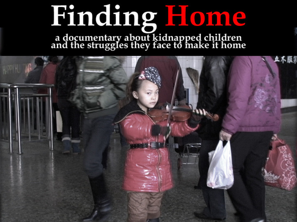 """""""Finding Home"""" - Documentary on Kidnapped Children in China's video poster"""