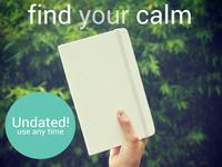 The Calming Planner: Discover a calmer you
