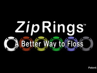 Zip Rings™: A Better Way to Floss