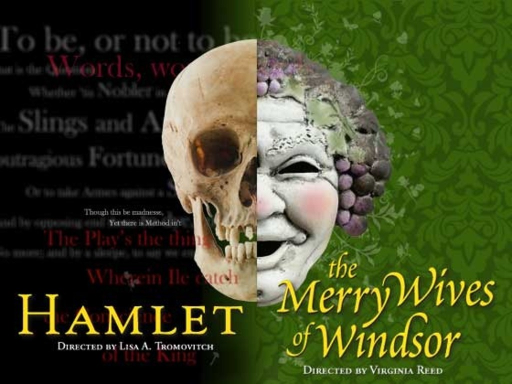 Shakespeare's Hamlet & The Merry Wives of Windsor's video poster